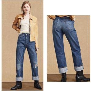 Levi's LVC 1950's 701 Women's Jeans in Calamity